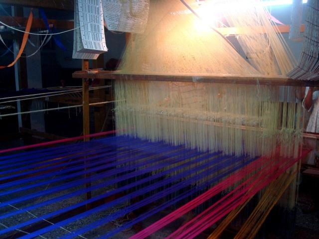 The Silk Sari Loom at Kanchipuram