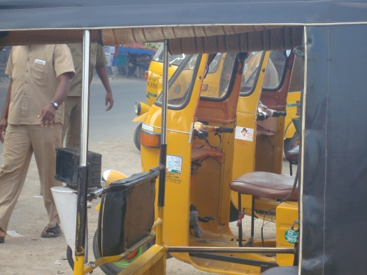 Chennai and its yellow auto :)
